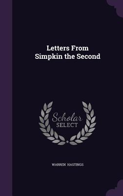 Letters from Simpkin the Second - Hastings, Warren