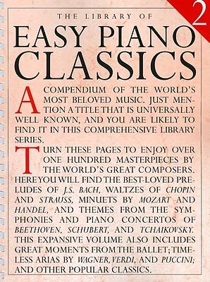 Library of Easy Piano Classics 2 - Appleby, Amy