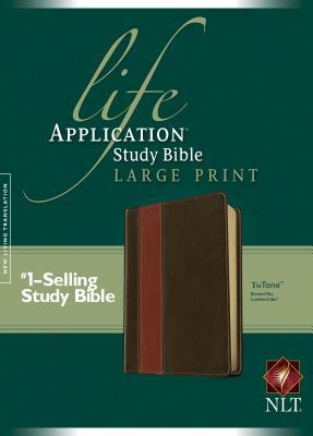Life Application Study Bible-NLT-Large Print - Tyndale (Creator)