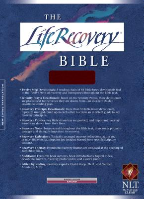 Life Recovery Bible-NLT - Tyndale House Publishers (Creator)