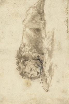 Liggende Leeuw (Lion Sketch) Journal: 150 Page Lined Notebook/Diary - van Rijn, Rembrandt Harmenszoon