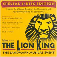 Lion King [Original Cast Recording] [Bonus DVD] - Original Broadway Cast