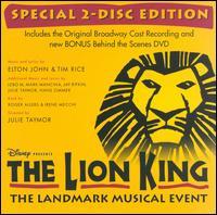Lion King [Original Cast Recording] [Bonus DVD] - Original Broadway Cast