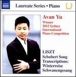 Liszt: Schubert Song Transcriptions