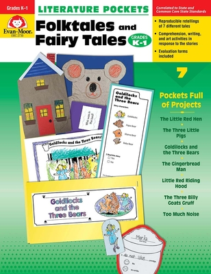 Literature Pockets, Folk Tales and Fairy Tales, Grades K-1 - Evan-Moor Educational Publishers