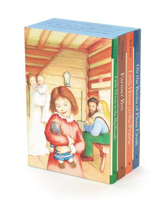 Little House 4-Book Box Set: Little House in the Big Woods, Farmer Boy, Little House on the Prairie, on the Banks of Plum Creek - Wilder, Laura Ingalls
