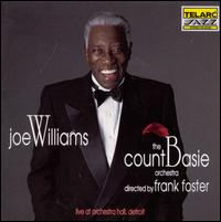 Live at Orchestra Hall, Detroit - Joe Williams with the Count Basie Orchestra