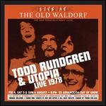 Live at the Old Waldorf: San Francisco, August 1978 [Limited Gold Vinyl Edition]