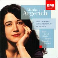 Live from the Concertgebouw, 1978 & 1979 - Martha Argerich (piano)