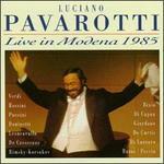 Live in Modena 1985