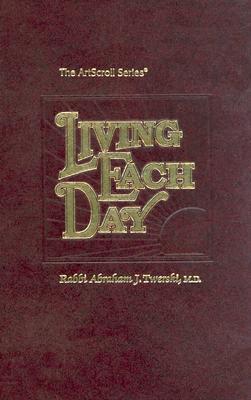 Living Each Day - Twerski, Abraham J, Rabbi, M.D.
