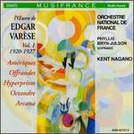 L'Oeuvre de Edgar Varèse, Vol. 1: 1920-1927