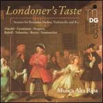 Londoner's Taste: Sonatas for Recorder, Violins, Violoncello and B.c.