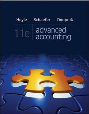 Loose-Leaf Advanced Accounting - Hoyle, Joe Ben, and Schaefer, Thomas, and Doupnik, Timothy Ben