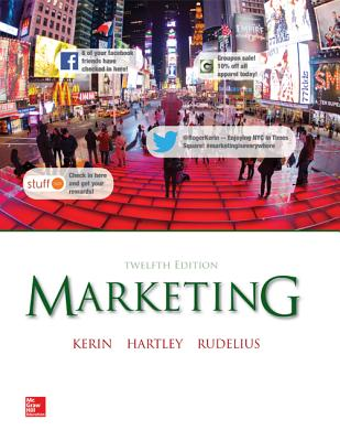 Loose Leaf Edition Marketing - Kerin, Roger a, and Hartley, Steven W, and Rudelius, William