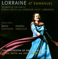 Lorraine at Emmanuel - Danielle Maddon (violin); Jayne West (soprano); Lena Wong (violin); Lorraine Hunt Lieberson (mezzo-soprano);...
