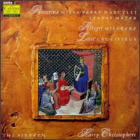 Lotti: Crucifixus; Palestrina: Stabat Mater Dolorosa; Missa Papae Marcelli; Allegri: Miserere - Christopher Purves (vocals); Christopher Royall (vocals); Ruth Dean (vocals); Sally Dunkley (vocals); The Sixteen