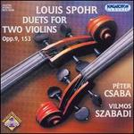Louis Spohr: Duets for Two Violins, Opp. 9, 153
