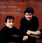 Louise Hopkins and Aleksandar Madzar play Elliot Carter, Sergei Rachmaninoff & Alfred Schnittke