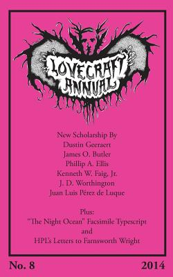 Lovecraft Annual No. 8 (2014) - Joshi, S T (Editor)