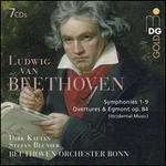 Ludwig van Beethoven: Symphonies 1-9; Overtures & Egmont Op. 84