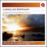 Ludwig van Beethoven: Symphony No. 9 & Choral Fantasy (Conclusion) - Emanuel Ax (piano); Jon Vickers (tenor); Margaret Price (soprano); Marilyn Horne (mezzo-soprano); Matti Salminen (bass);...