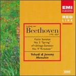 """Ludwig van Beethoven: Violin Sonatas Nos. 5 """"Spring"""" & 9 """"Kreutzer"""""""