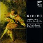 Luigi Boccherini: Quintets I, II & III for String Quartet & Guitar