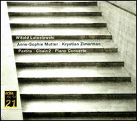 Lutoslawski: Partita; Chain 2; Piano Concerto - Anne-Sophie Mutter (violin); Krystian Zimerman (piano); Phillip Moll (piano); BBC Symphony Orchestra;...