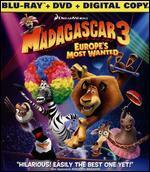 Madagascar 3: Europe's Most Wanted [2 Discs] [Includes Digital Copy] [UltraViolet] [Blu-ray] - Conrad Vernon; Eric Darnell; Tom McGrath