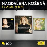 Magdalena Kozená: 3 Classic Albums - Christophe Grapperon (tenor); Claire Delgado-Boge (soprano); Dorothea Röschmann (soprano); Edwige Parat (soprano);...