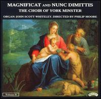 Magnificat And Nunc Dimittis, Vol. 9 - John Scott Whiteley (organ); York Minster Choir (choir, chorus)