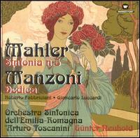Mahler: Sinfonia n.5; Manozni: Dedica - Giancarlo Luccardi (bass); Roberto Fabbriciani (flute); Chorus Ferdinando Paer (choir, chorus);...