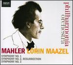 Mahler: Symphonies 1, 2 'Resurrection' & 3