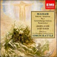 "Mahler: Symphony No. 2 ""Resurrection"" - Arleen Augér (soprano); Janet Baker (mezzo-soprano); City of Birmingham Symphony Chorus (choir, chorus);..."