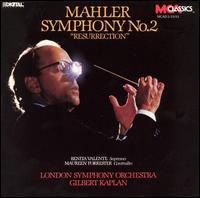 "Mahler: Symphony No. 2 ""Resurrection"" - Benita Valente (soprano); Maureen Forrester (contralto); Ardwyn Singers (choir, chorus); BBC National Chorus of Wales (choir, chorus); Cardiff Polyphonic Choir (choir, chorus); Dyfed Choir (choir, chorus); London Symphony Chorus (choir, chorus)"