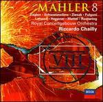Mahler: Symphony No. 8 - Anna Larsson (contralto); Anne Schwanewilms (soprano); Ben Heppner (tenor); Jan-Hendrik Rootering (bass); Jane Eaglen (soprano); Peter Mattei (baritone); Ruth Ziesak (soprano); Sarah Fulgoni (contralto); Vesko Eschkenazy (violin)