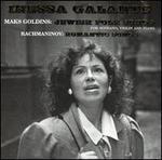 Mak Goldins: Jewish Folk Songs; Rachmaninov: Romantic Songs