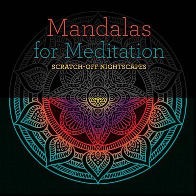 Mandalas for Meditation: Scratch-Off Nightscapes - Lark Crafts
