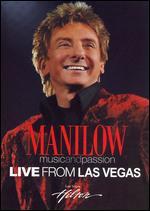 Manilow: Music and Passion - Live From Las Vegas [2 Discs] - David Mallet
