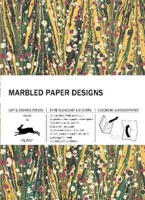 Marbled Paper Designs: Gift & Creative Paper Book Vol 102 - Van Roojen, Pepin