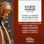Marin Marais: Suites for 3 Viols