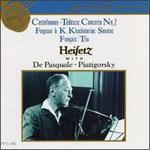 Mario Castelnuovo-Tedesco: Concerto No. 2; Howard Ferguson & Karen Khachaturian: Sonatas; Fran�aix: Trio