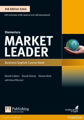 Market Leader 3rd Edition Extra Elementary Coursebook with DVD-ROM Pack - Dubicka, Iwona