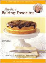 Martha Stewart: Martha's Baking Favorites