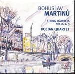 Martinu: String Quartets Nos. 2, 4 & 5