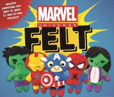 Marvel Universe Felt - Ray, Aimee
