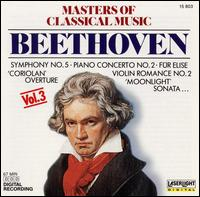 Masters of Classical Music, Vol. 3: Beethoven - Anton Dikov (piano); Budapest Strings; Evelyne Dubourg (piano); Miklós Szenthelyi (violin)