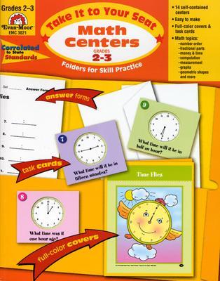 Math Centers Grades 2-3: EMC 3021 - Moore, Jo Ellen, and Norris, Jill
