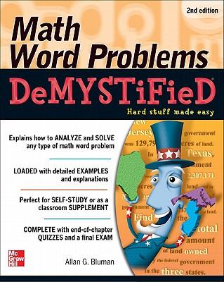Math Word Problems Demystified - Bluman, Allan G, Professor
